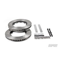 Rotor 381mm RS4 OEM Hat Upgrade Kit